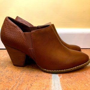 Brown Charlie Booties   Comfort & Style